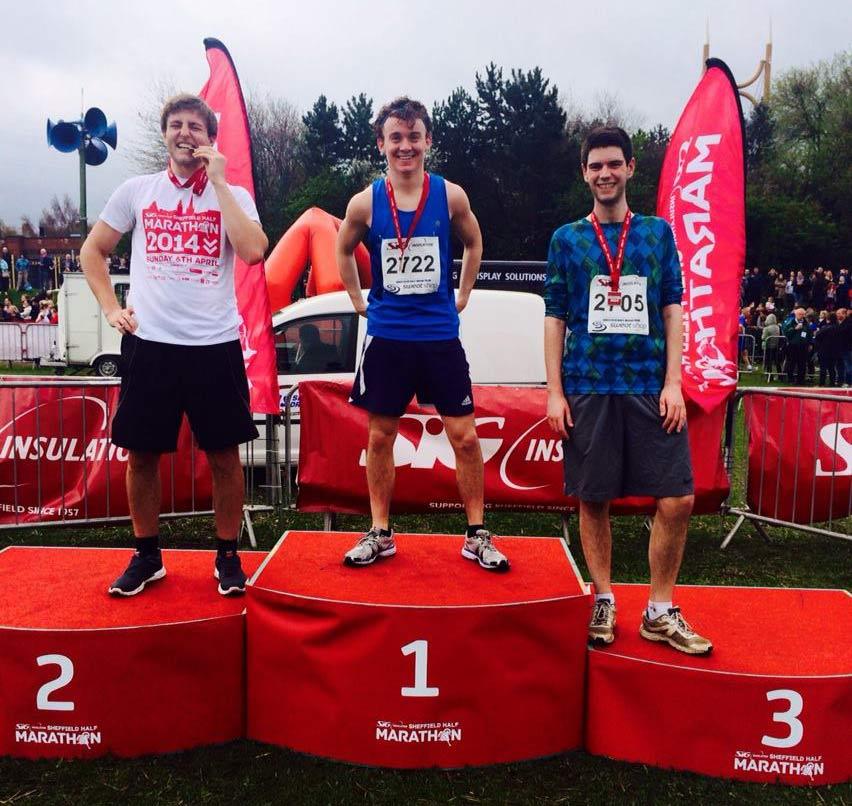 Sheffield Half Marathon 2014 NowThen Cleaners Team Photo
