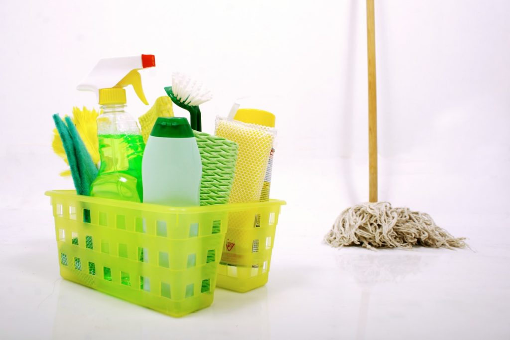Cleaning products for cleaners