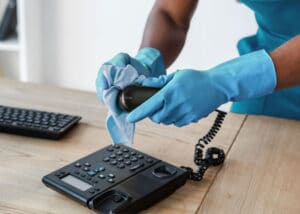 telephone-equipment-cleaning